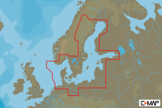 MAPA C-MAP MAX-N W:BALTIC SEA +DENMARK 69521